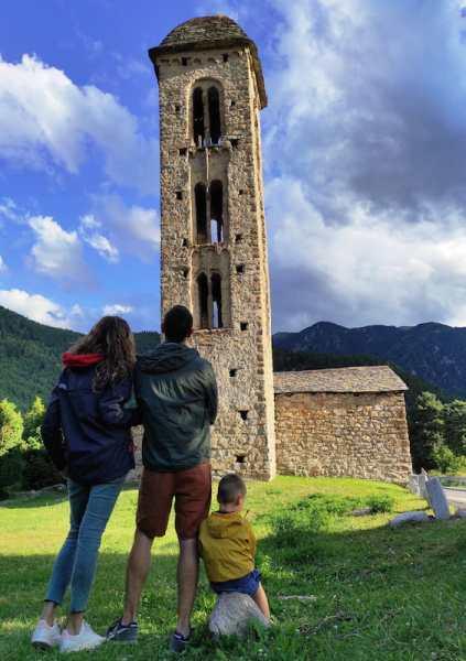 Iglesia románica San Miguel de Engolasters en Andorra