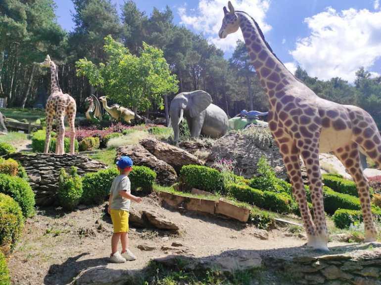 El jardín de Juberri es un plan ideal en Andorra con niños en verano