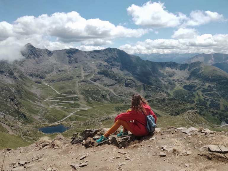 Vistas al valle de Ordino