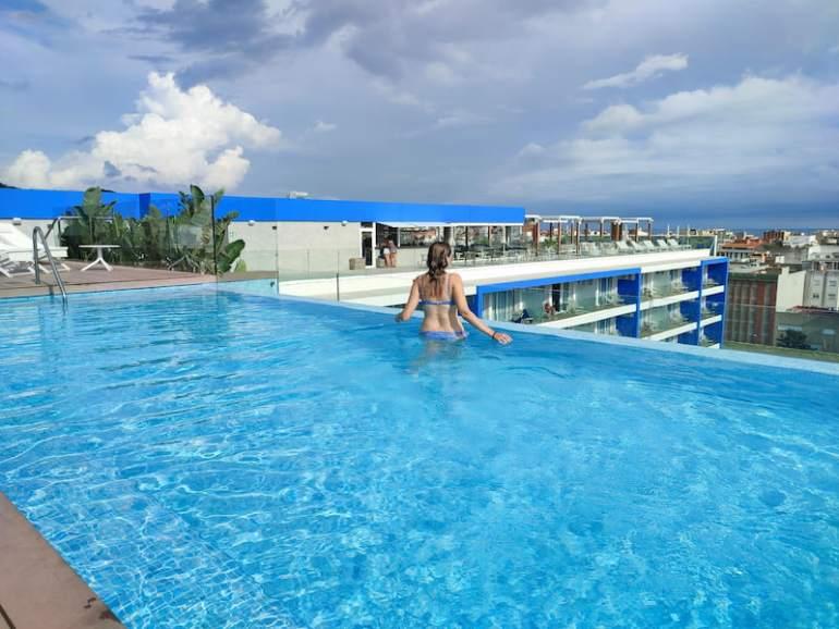Piscina Hotel l'Azure Lloret de Mar