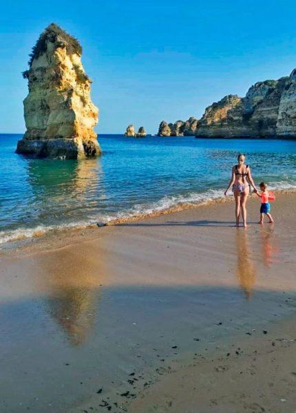 Mejores playas del Algarve para ir con niños