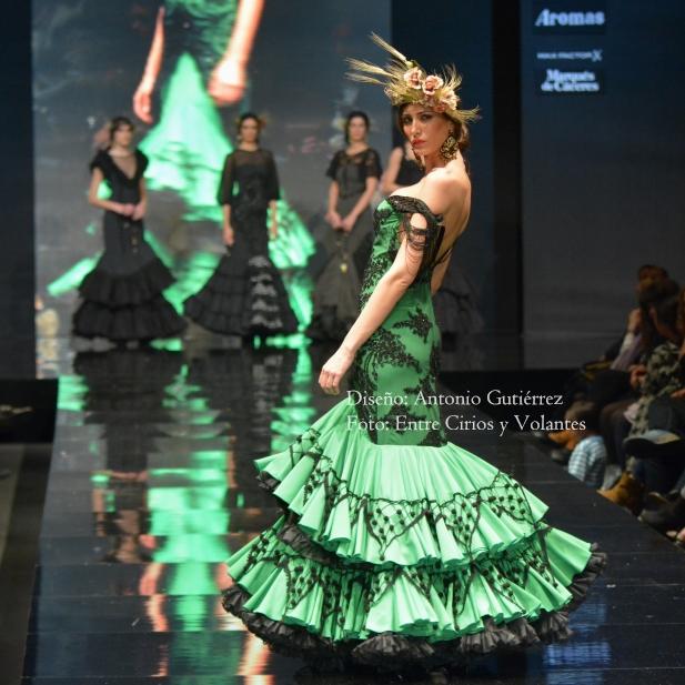 trajes de flamenca 2016 antonio gutierrez