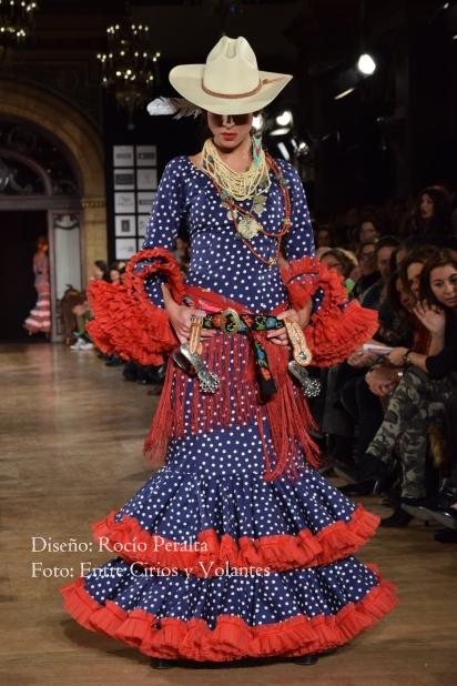 trajes de flamenca 2016 rocio peralta