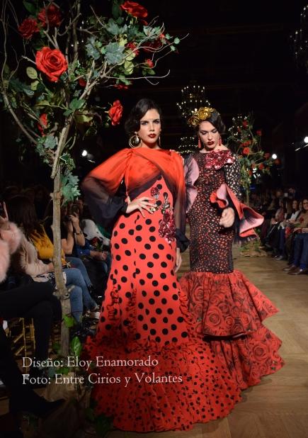 trajes de flamenca rojos eloy enamorado