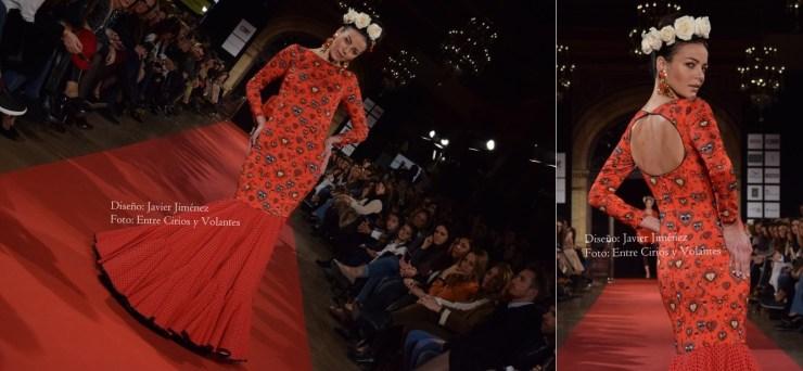 trajes de flamenca rojos javier jimenez