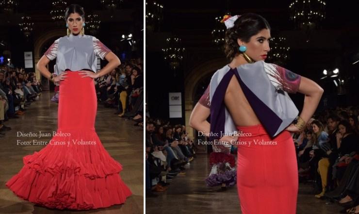 trajes de flamenca rojos juan boleco