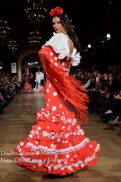 trajes de flamenca rojos manuela macias