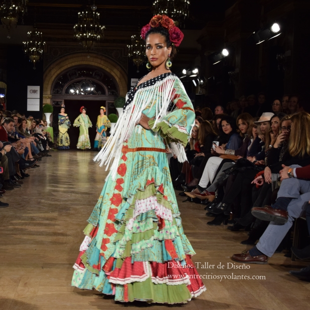 taller de diseño trajes de flamenca 2016