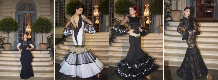 De izq. a dcha diseños de: Juan Boleco, Lola Azahares, Lorena Rivero, Lucía Franx.