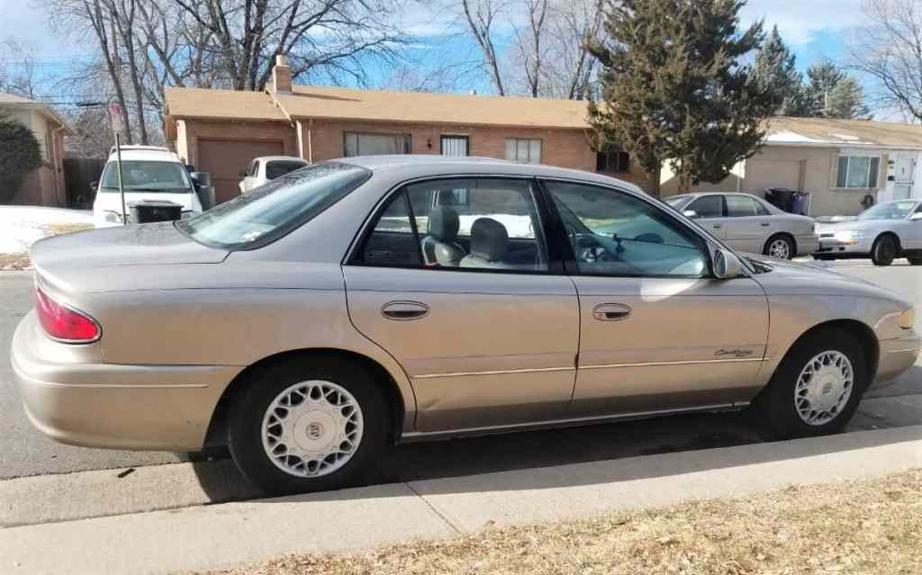 My old 1998 Buick Century that I used for deliveries full time for two years.