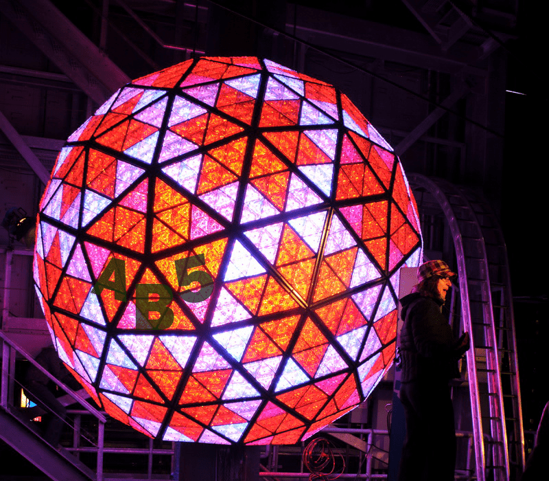 The AB5 Ball is about to drop on New Year's Day
