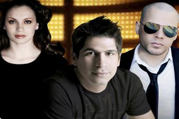 Daniel Calveti, Christine D'Clario y Funky