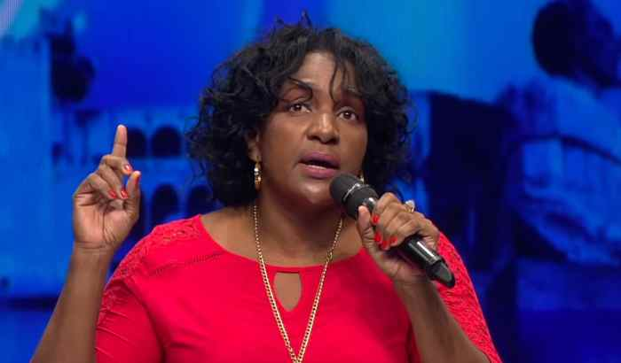 Dio testimonio y canto al Señor en la televisión dominicana