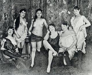 Prostitutas siglo XIX