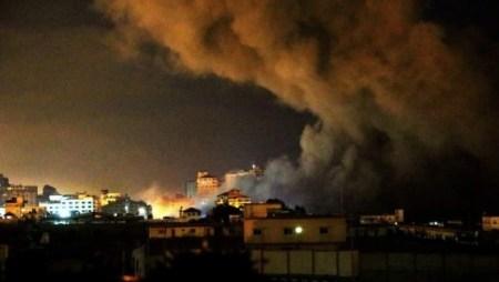 Bombardeo-Gaza