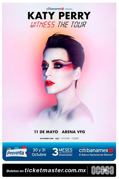 Katy Perry Arena VFG Guadalajara