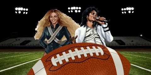 halftime Super Bowl