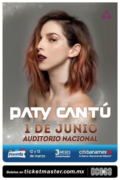 Paty Cantu Auditorio Nacional 2018