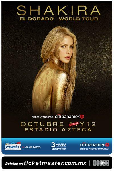 Shakira nueva fecha