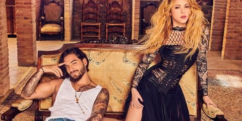 Shakira y Maluma Clandestino