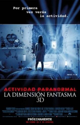 Actividad Paranormal La Dimension Fantasma
