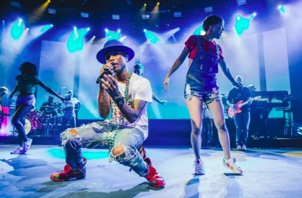 Apple Music Festival Pharrell