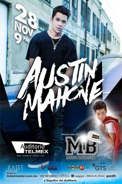 Austin Mahone Auditorio Telmex Guadalajara
