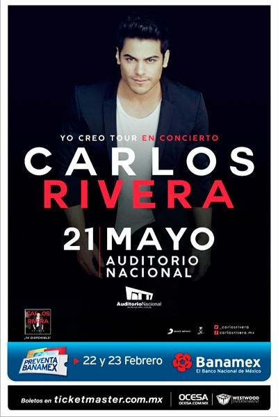 Carlos Rivera Auditorio Nacional