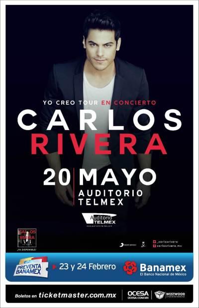Carlos Rivera Auditorio Telmex