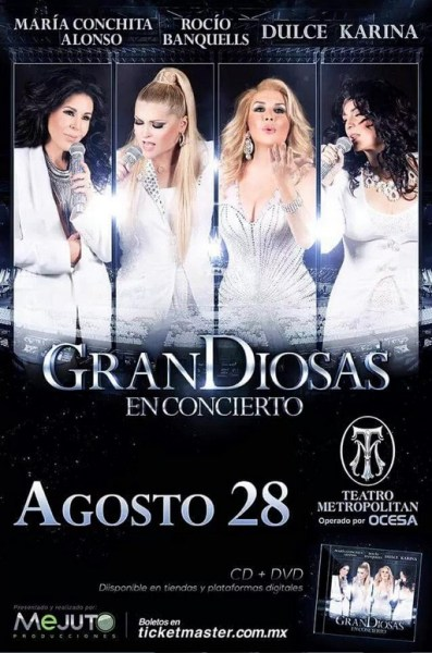 GranDiosas Teatro Metropolitan
