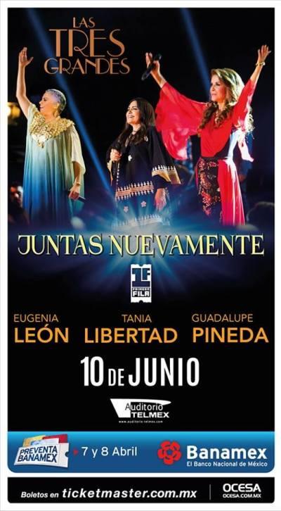 Las Tres Grandes Auditorio Telmex