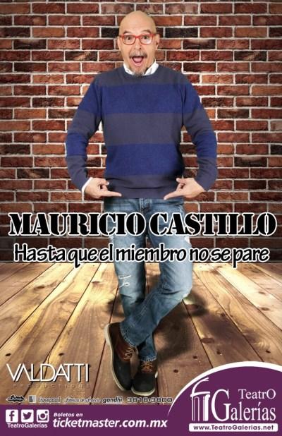 Mauricio Castillo Teatro Galerias