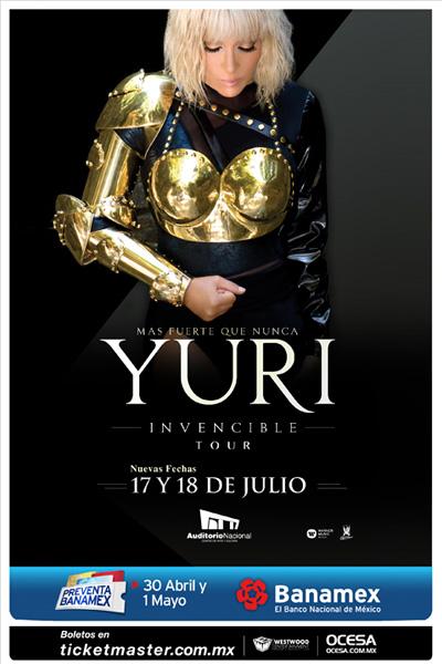 concierto Yuri Auditorio Nacional