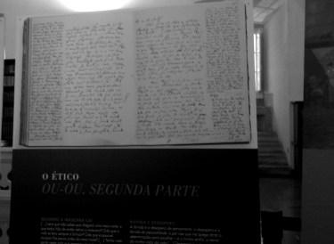 Kierkegaard se deja leer en la Joanina.