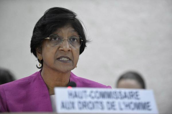 Alta Comisionada para los Derechos Humanos Navi Pillay. / Photo ONU Jean-Marc Ferré