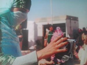 Una periodista saharaui. / S.R