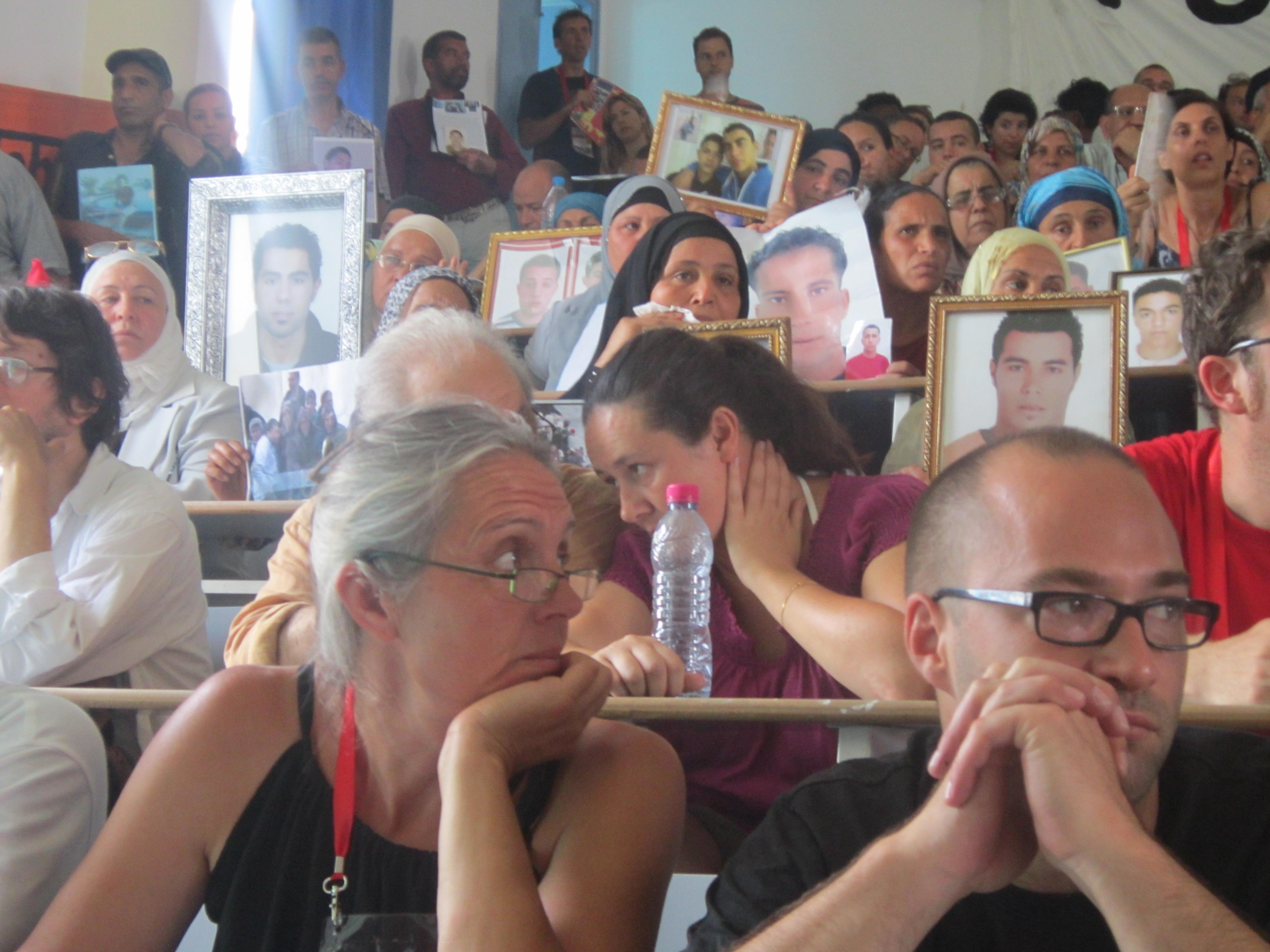 Activistas participando en las jornadas celebradas en Túnez. / FM