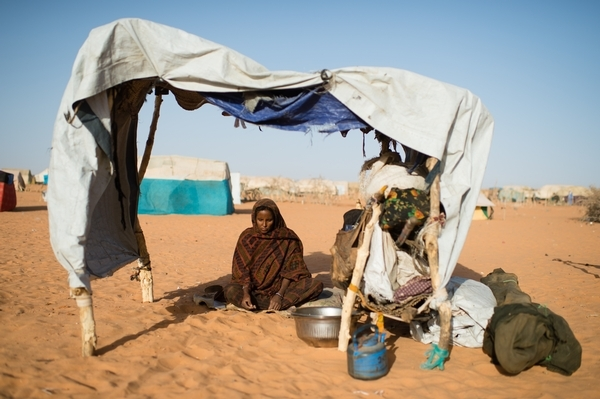 Refugiada maliense en el campo de Mbera, Mauritania © Nyani Quarmyne