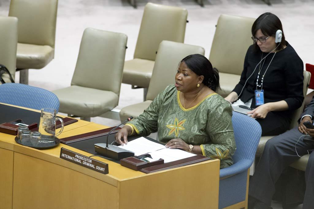 La corte. / UN-Photo