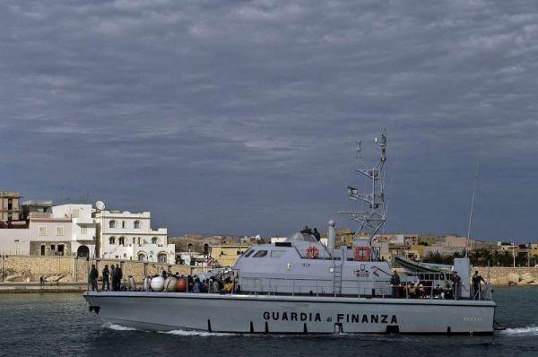 Ciudadanos sirios rescatados por Italia. / ACNUR