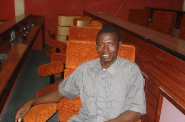 El periodista guineano Mamady Cámara. / F.B