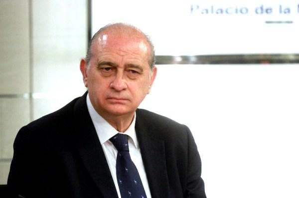 Jorge Fernández Díaz durante la rueda de prensa posterior al Consejo de Ministros. /Interior