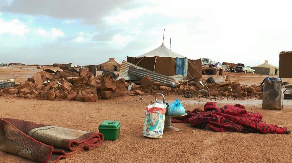 Fotografía de los campos de refugiados saharauis. / RASD TV