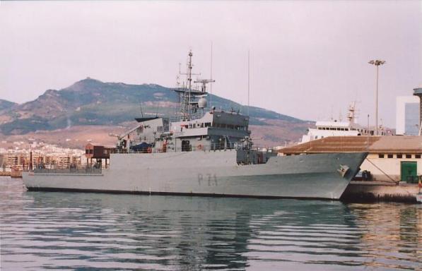 La embarcación Serviola P71 en imagen de archivo./ Archivo