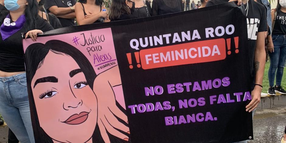 """Bianca """"Alexis"""": el caso que sintetiza cómo se vive la violencia de género en Cancún"""