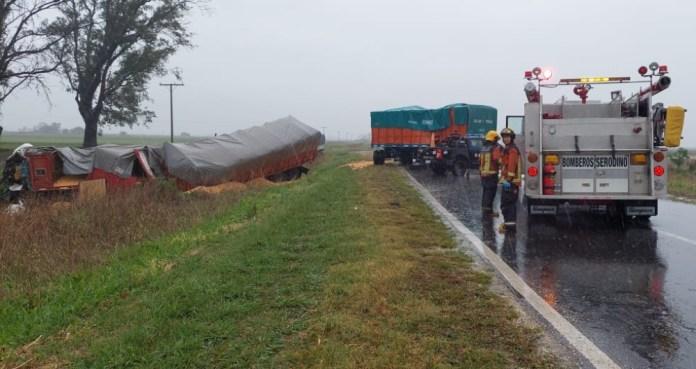 Este miércoles se confirmó que un chofer entrerriano murió tras el choque de tres camiones. Ocurrió en Santa Fe, sobre la RP N°91.