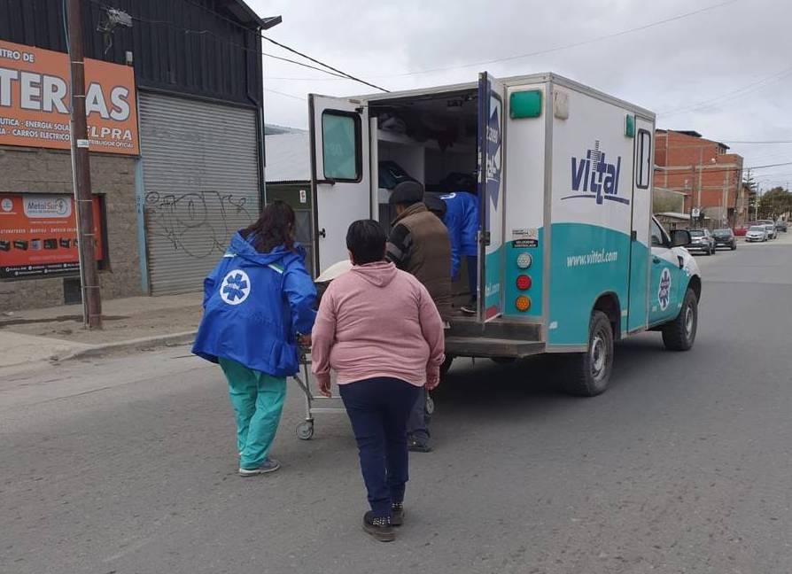 ambulancia bariloche