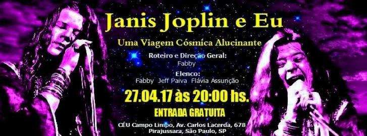 Espetáculo em homenagem à Janis Joplin