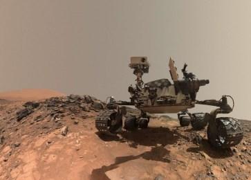 Bela Selfie do Rover Curiosity em Marte