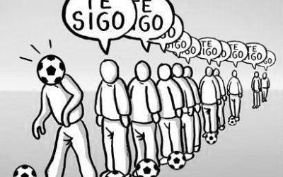 MISIÓN: DESTRUIR LAS FILAS INTERMINABLES EN EL FÚTBOL